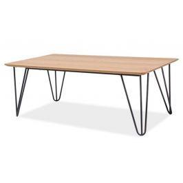 Konferenční stolek v retro stylu v dekoru dub typ A KN521