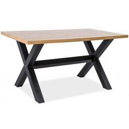 Jídelní stůl 150x90 cm v dekoru dub KN555