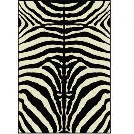 Koberec, vzor zebra, 140x200, ARWEN