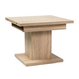 Jídelní a konferenční rozkládací stůl v dekoru dub sonoma KN744