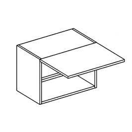W50OKGR skříňka nad digestoř bílý mat KN394