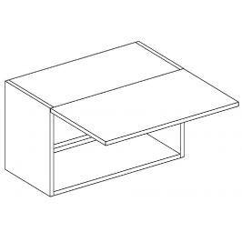W60OKGR skříňka nad digestoř bílý mat KN394