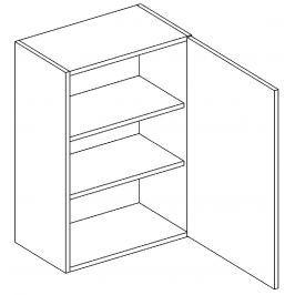 W60 horní skříňka pravá bílý mat KN394