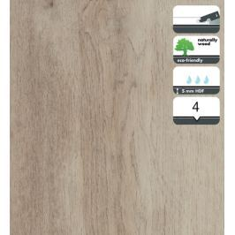 Vinylová podlaha dílce v dekoru dub bílý podzimní 5 mm FORBO Novilon Click