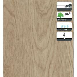 Vinylová podlaha dílce v dekoru dub bílý vymývaný 5 mm FORBO Novilon Click