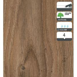 Vinylová podlaha dílce v dekoru dub tmavý 5 mm FORBO Novilon Click