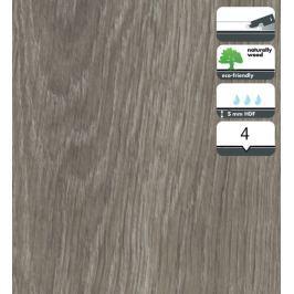 Vinylová podlaha dílce v dekoru dub šedý velký 5 mm FORBO Novilon Click