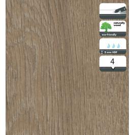 Vinylová podlaha dílce v dekoru dub tmavý velký 5 mm FORBO Novilon Click