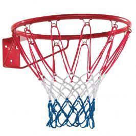 Basketbalový koš červený kovový