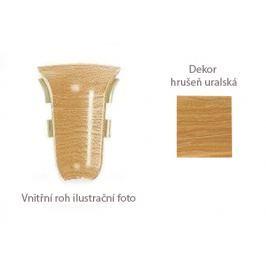 Roh vnitřní k PVC liště dekor hrušeň uralská 2 ks LP55