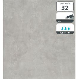 Vinylová podlaha dílce v dekoru cement šedý 9,8 mm Floover Original Stone