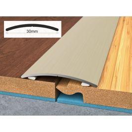 Profil podlahový hliníkový samolepící 3x90 cm wenge PVC folie BOHEMIA