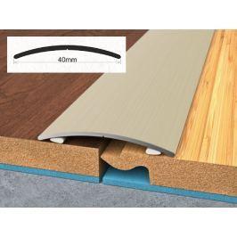 Profil podlahový hliníkový samolepící 4x270 cm dub světlý PVC folie BOHEMIA