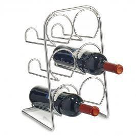 Stojan na víno pochromovaný E248