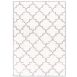 Koberec, krémová / šedá, vzor, 160x235, TATUM TYP 1