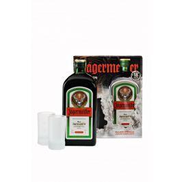 Jägermeister 0,7l 35% + 2x sklo GB