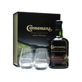 Connemara Peated 0,7l 43% + 2 x sklo 0,7l