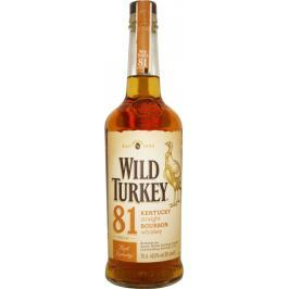 Wild Turkey 81 Proof 8y 0,7l 40,5%