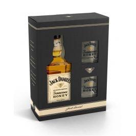 Jack Daniel's Honey 0,7l 35% + 2x sklo GB