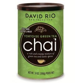 David Rio Tortoise Green Chai 398g