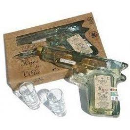 Hijos de Villa Revolver Tequila Reposado 0,2l 40% + 2x sklo GB
