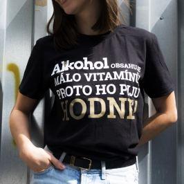 Tričko Alkohol.cz Vitamíny M