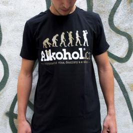 Tričko Alkohol.cz Evoluce M