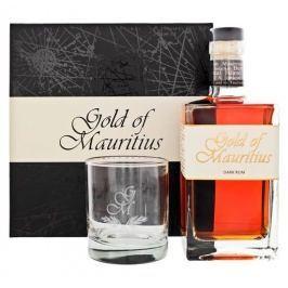 Gold of Mauritius Dark 0,7l 40% + 1x sklo GB