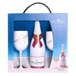 Moët & Chandon ICE Impérial Rose 0,75l 12,5% + 2x sklo GB