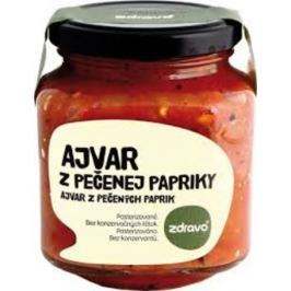 Ajvar štiplavý z pečené papriky 300g