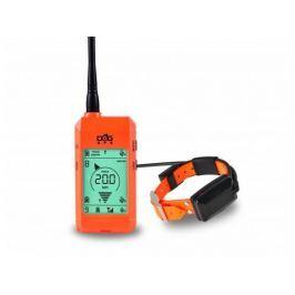 Satelitní GPS lokátor Dogtrace DOG GPS X23 sada pro tři psy - Oranžový