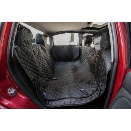 Reedog ochranný potah do auta pro psa na zip + boky - černý