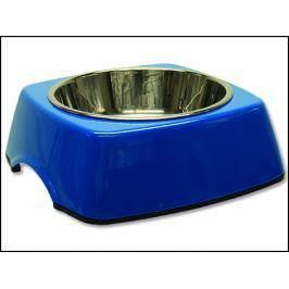 Miska DOG FANTASY nerezová čtvercová modrá 18 cm 350ml