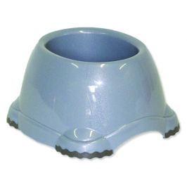 Miska DOG FANTASY plastová protiskluzová pro kokry šedá 20 cm 650ml