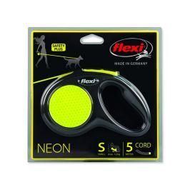 Vodítko FLEXI New Neon lanko S - 5 m
