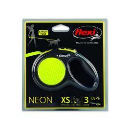 Vodítko FLEXI New Neon páska XS - 3 m