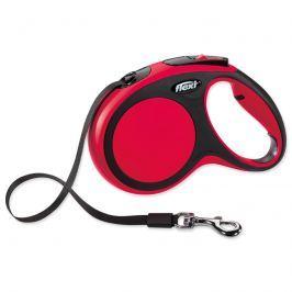 Vodítko FLEXI Comfort New páska červené M - 5 m