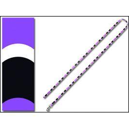 Vodítko DOG IT Cobra fialovo-černé S