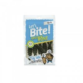 Brit pochoutka Let's Bite Brushin' Bone 90g NEW