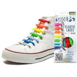 Shoeps - Silikonové tkaničky mix