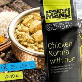 AdventureMenu - Kuře Korma s rýží