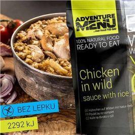 AdventureMenu - Kuřecí na divoko s rýží