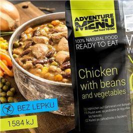 AdventureMenu - Kuře po zahradnicku s fazolemi