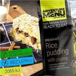 AdventureMenu - Rýžový nákyp se švestkami