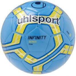 uhlsport INFINITY TEAM - cyan/fluo yellow/navy - vel. 3