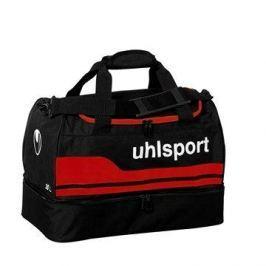 uhlsport BASIC LINE 2.0 PLAYERS BAG - black/red 50 L (50x28x36cm)