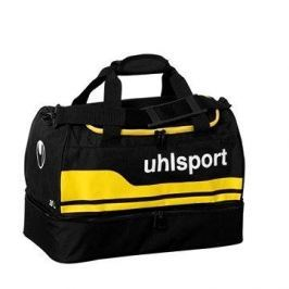 uhlsport BASIC LINE 2.0 PLAYERS BAG - black/corn yellow 30 L (43x24x30cm)