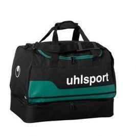 uhlsport BASIC LINE 2.0 PLAYERS BAG - black/lagune 50 L (50x28x36cm)