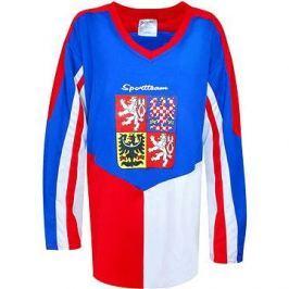 Hokejový dres ČR modrý XL