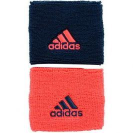 Adidas Small Wristbands Coral/Blue